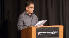 kamal haasan speech in harvard kennedy school