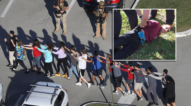 17 confirmed dead in florida shooting on high school