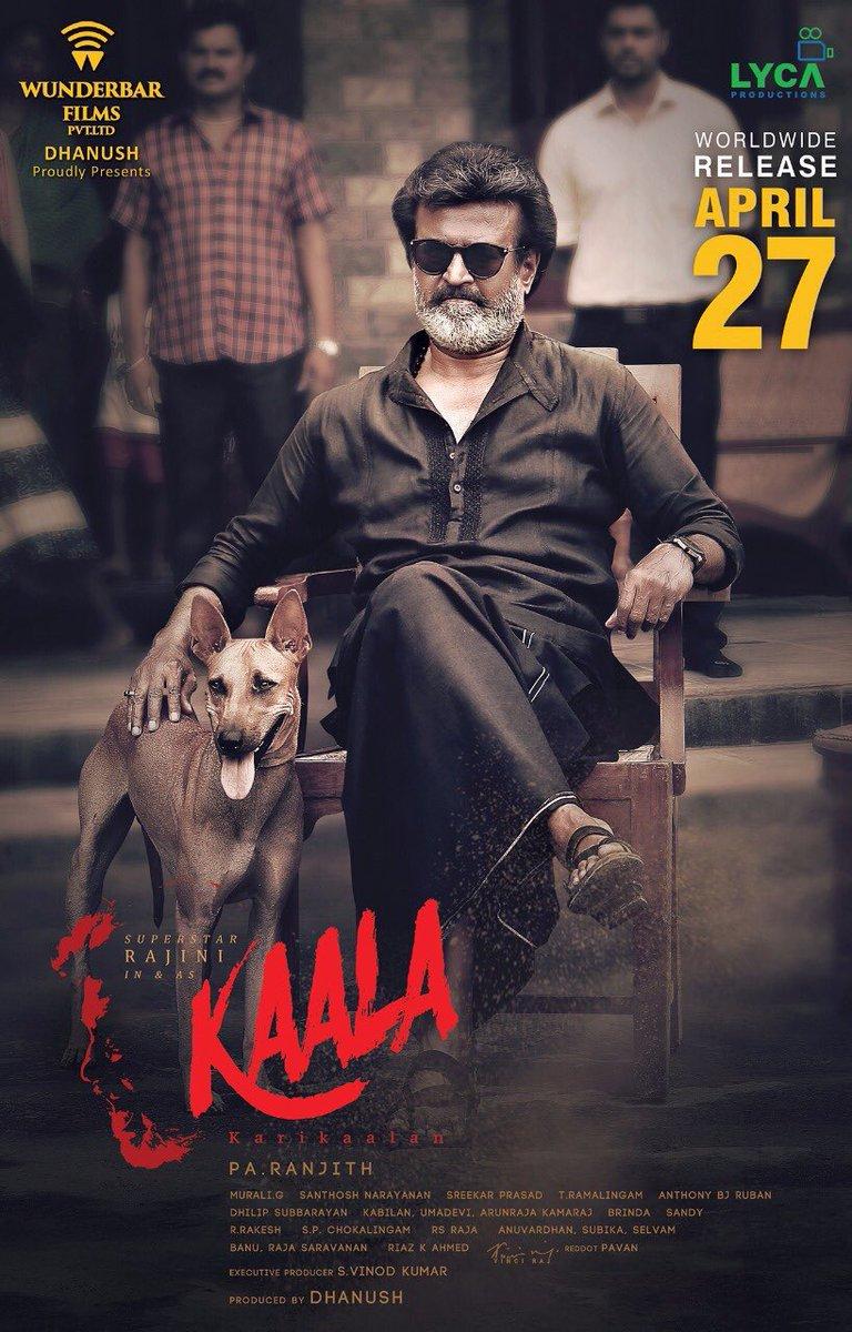 kaala movie released on april 27th
