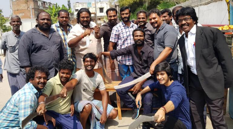Vada Chennai movie shooting stills