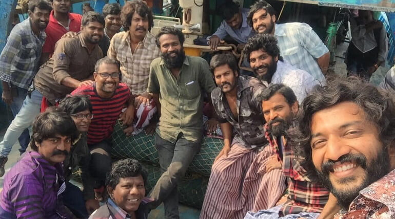 Actor Dhanush new movie Vada Chennai first part of schedule wrapped up and next schedule started in next month