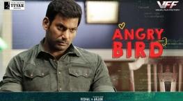 irumbu thirai angry bird promo release