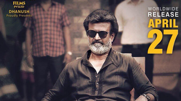 Super Star Rajinikanth Kaala movie teaser releasaed on March 10th