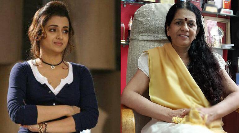 trisha acting role as rajani pandit