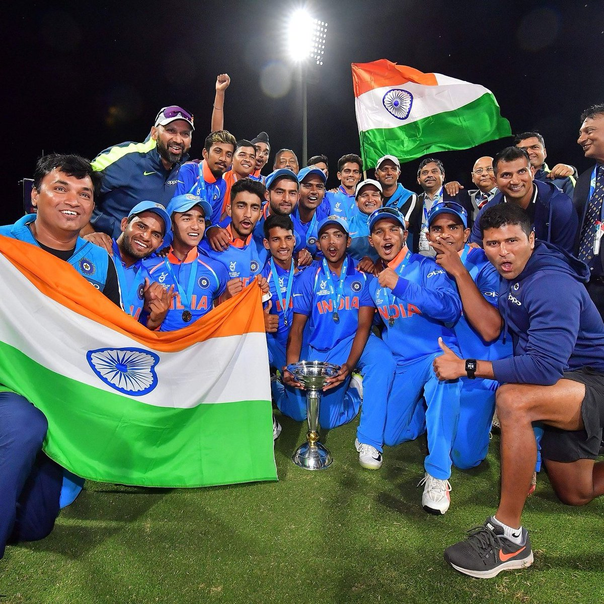 u19 world cup final india won by 8 wickets