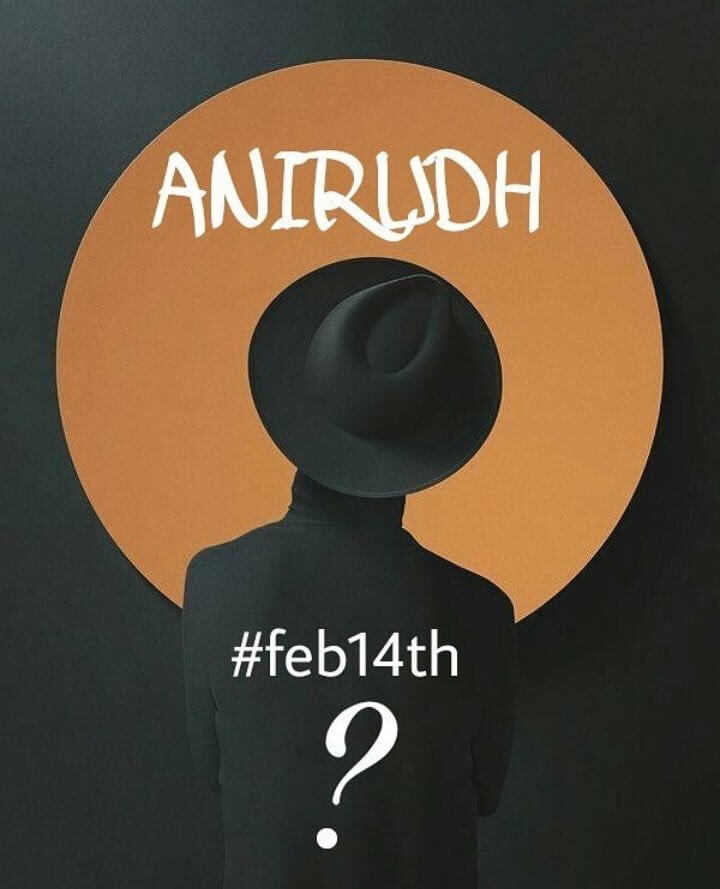 anirudh surprise at valentines day february 14th