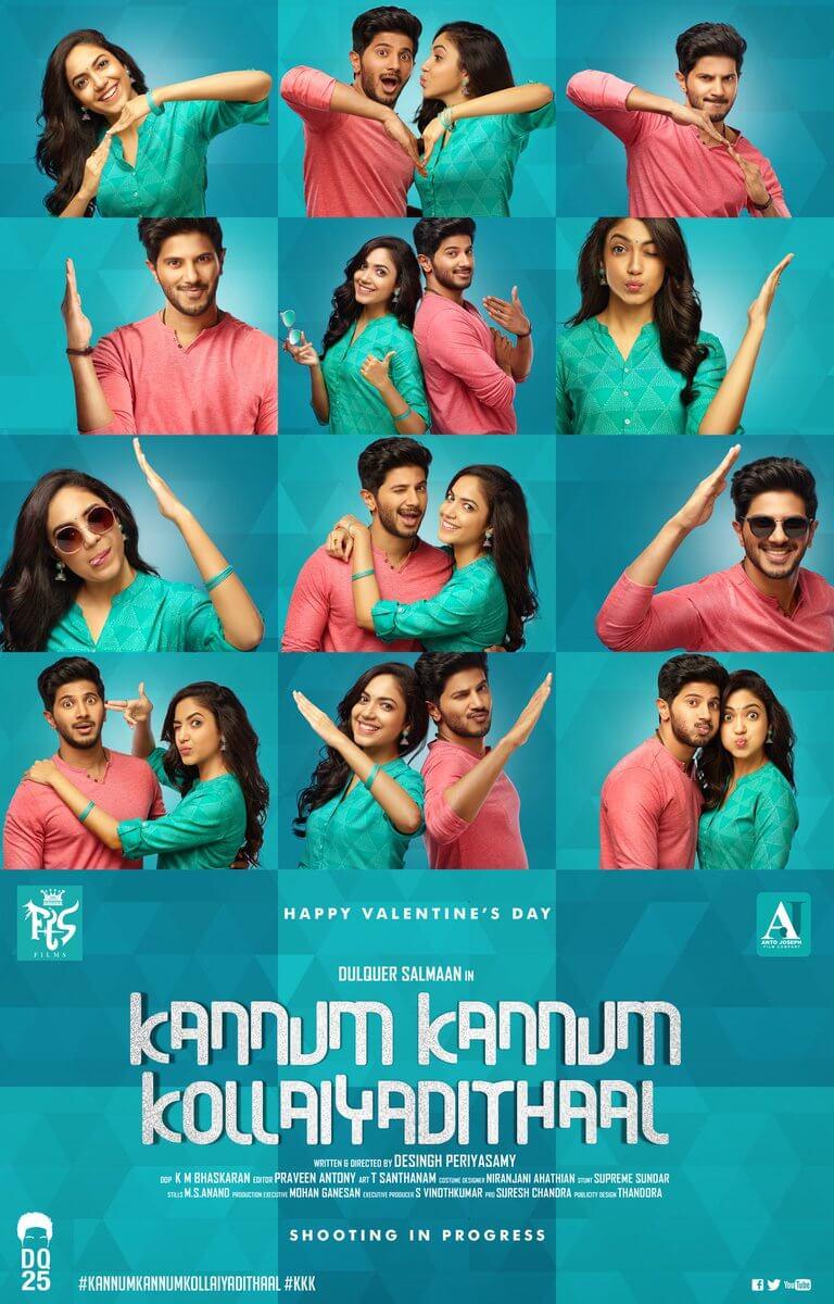 kannum kannum kollaiyadithaal movie first look poster