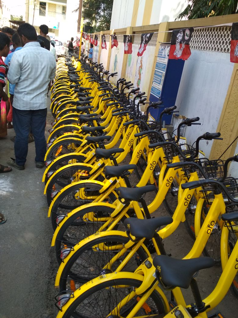 Ofo cycles RS Puram