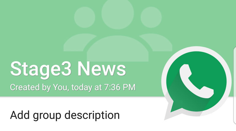 whatsapp latest update comes with Add Group Description.