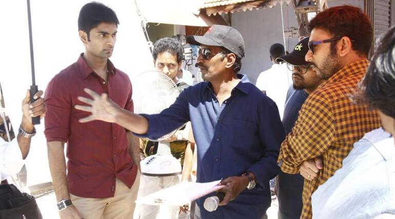 கலை இயக்குனர் ஷிவா யாதவ் தேச பற்று பாடலுக்காக ஒரு கோடி செலவில் செட் அமைத்துள்ளார்.