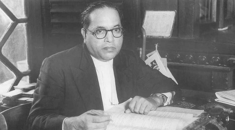 அம்பேதகர் சிலை சிதைப்பு. Dr.B.R.Ambethkar representation image