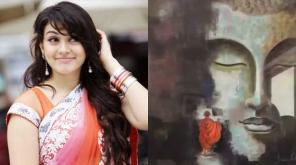 நடிகை ஹன்சிகா வரைந்த புத்தர் ஓவியம் ஒன்றை நடிகர் ஷ்ரியா ரெட்டி பகிர்ந்துள்ளார்.