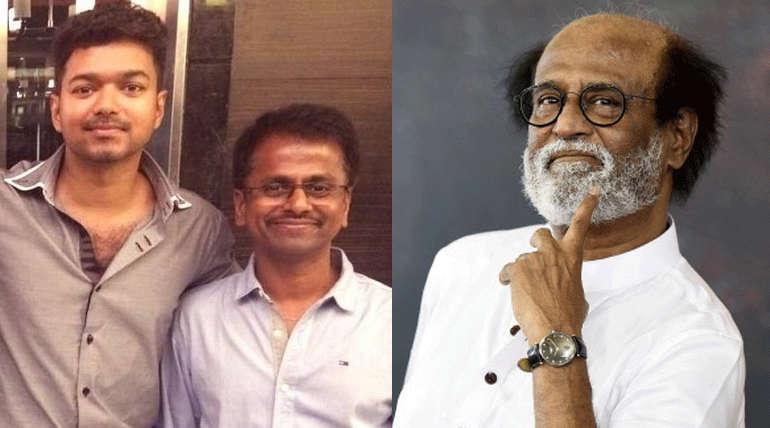 இயக்குனர் ஏஆர் முருகதாஸ் இயக்கத்தில் உருவாகி வரும் தளபதி 62 படம் ரஜினி நடிப்பதாக இருந்தது. தற்போது அவருக்கு பதிலாக விஜய் நடித்து வருகிறார்.