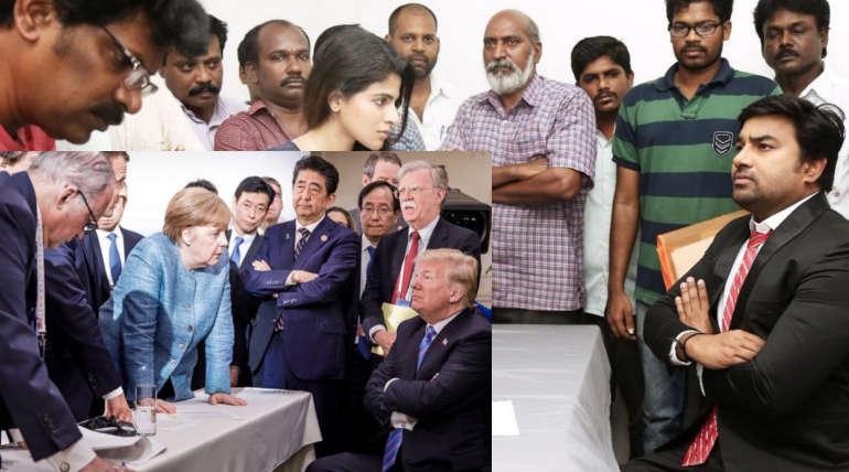 டீசரில் தமிழ் சினிமா, அரசியல் போன்றவற்றை கலாய்த்தது போதாதென்று கடல் கடந்து ட்ரம்பையும் வம்புக்கு இழுத்துள்ளது தமிழ் படம் 2.0 படக்குழு.
