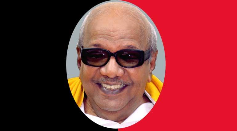 Karunanidhi Health latest updates