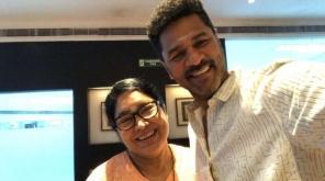 இயக்குனர் ஏஎல் விஜய் மற்றும் பிரபு தேவா கூட்டணி மூன்றாவது முறையாக 'தேவி 2' படத்தின் மூலம் இணைந்துள்ளது. இந்த படத்தின் படப்பிடிப்பு தற்போது மொரிசியஸ் தீவில் துவங்கப்பட்டுள்ளது.